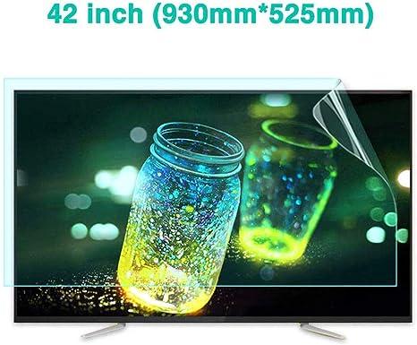 LWXTY 42 Inches Protector de Pantalla para TV Anti-luz Azul Ojos ...