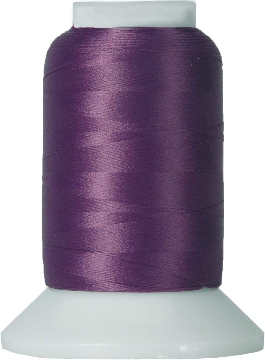 1000m Spools Threadart Wooly Nylon Thread 50 Colors Available Serger Sewing Stretchy Thread BLUE Color 9132