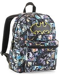 Batman Graphic Comic Print Backpack