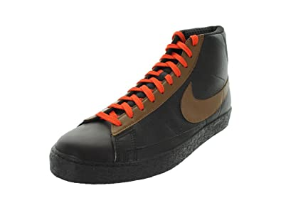 Nike Men's NIKE BLAZER HIGH PREMIUM BASKETBALL SHOES 9 (TAR/LT BRTSH TAN/