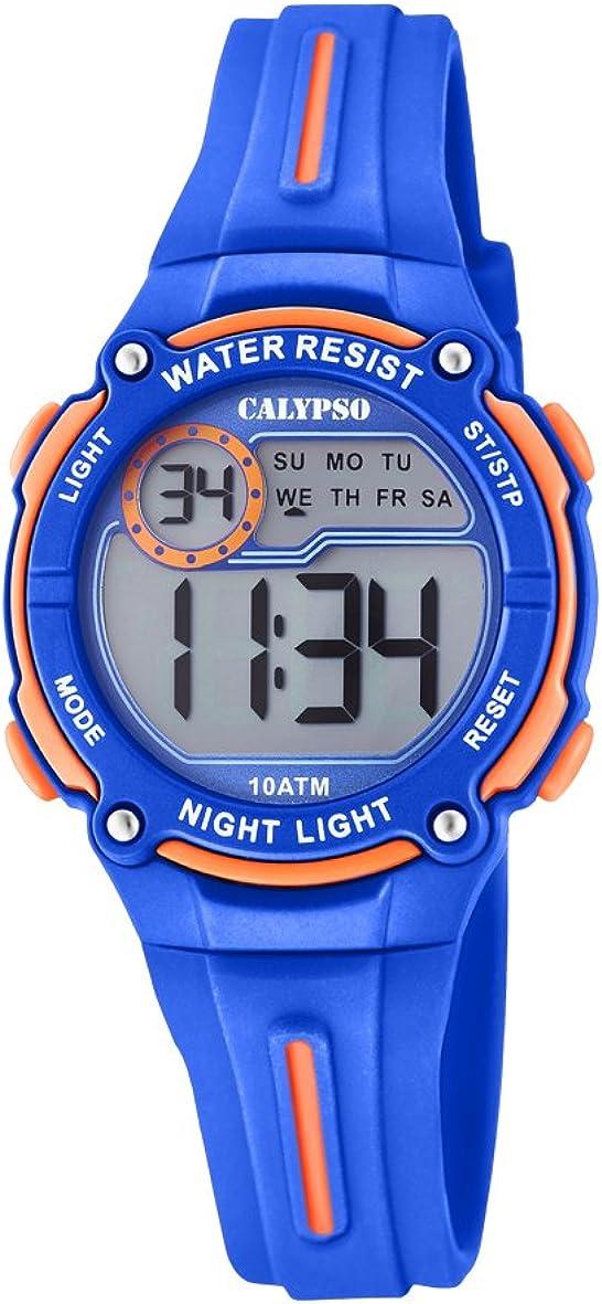 Calypso Reloj Cronógrafo para Niños de Cuarzo con Correa en Plástico K6068/3