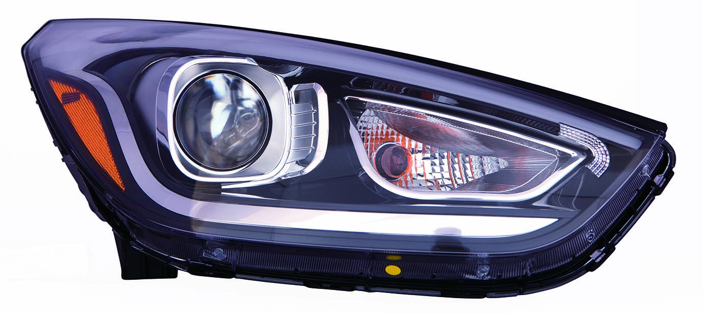 Hyundai Tucson Depo 321-1151R-AS2 Head Lamp Assembly