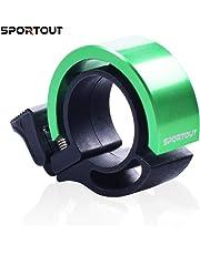 Sportout Mini Aluminiumlegierung Innovative Fahrradklingel Fahrrad Ring mit Lauten Klaren Klaren Kla …