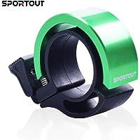 Sportout Fietsbel, aluminiumlegering, innovatieve mini-fietsbel met een zeer helder geluid
