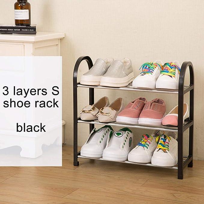 NYDZDM Estante para Zapatos de 3 Niveles Organizador de pie ...