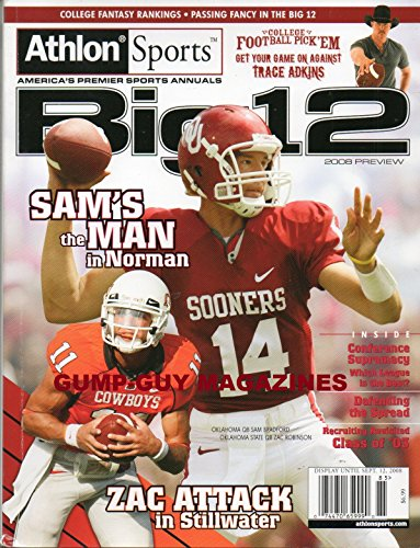 Athlon Sports AMERICA'S PREMIER SPORTS ANNUALS Big 12 2008 Preview COLLEGE FANTASY RANKINGS Passing Fancy In The Big 12 TRACE (Georgia Relaxed Fit Jean)