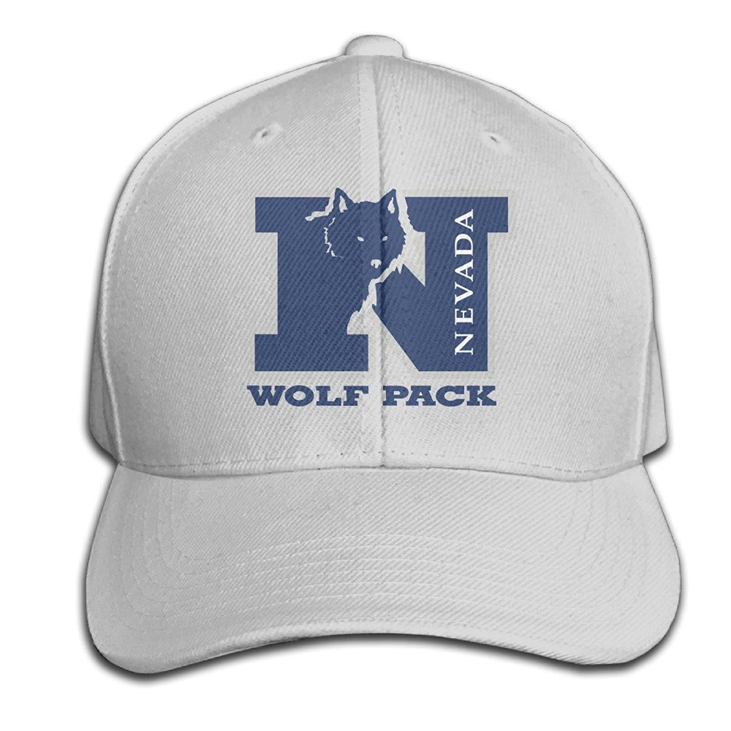 Nevada Wolf Pack Hats Adjustable Ash Baseball Cap