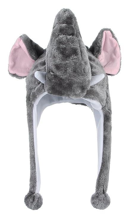 c73f056fc8df0 GEMVIE Sombrero Gorro Disfraz Cosplay De Animal Adulto Niños Felpa De Oreja  (Elefante)  Amazon.es  Juguetes y juegos