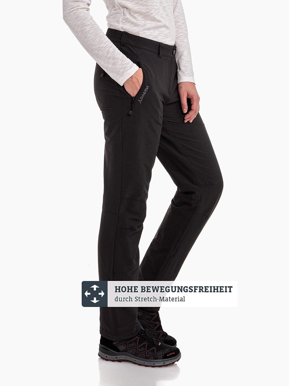 komfortable Outdoor Hose mit weichem Futter und h/öchstem Komfort Sch/öffel Damen Pants Engadin W warme und wasserabweisende Wanderhose f/ür Frauen