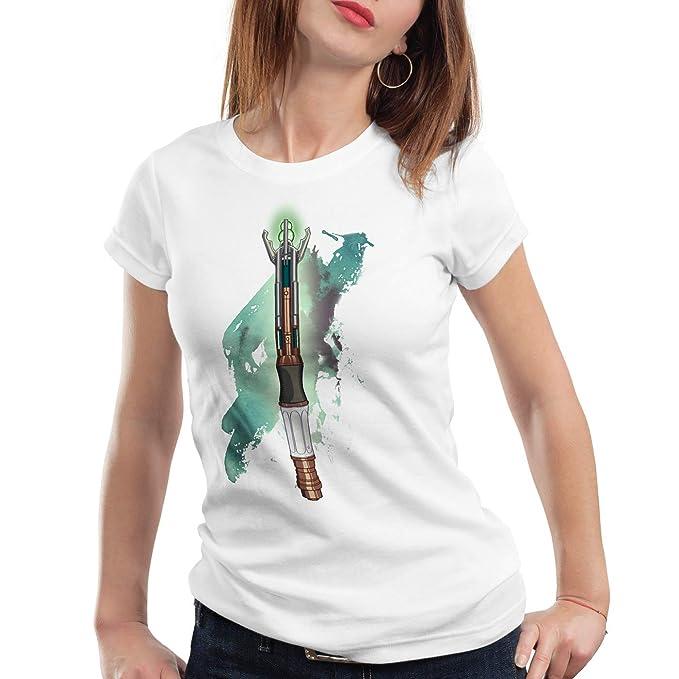 style3 Destornillador sónico Camiseta para Mujer T-Shirt Who Dalek ...
