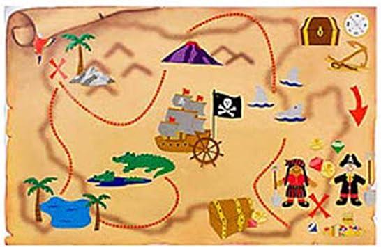 Fun Express Mapa del Tesoro Pirata Actividad Kit (12 Unidades): Amazon.es: Juguetes y juegos