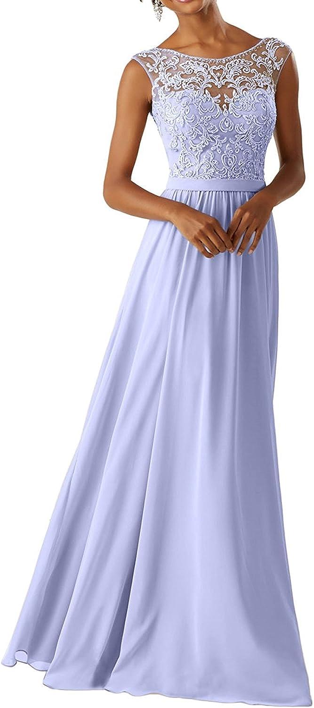 La Marie Braut 2020 Neu Lilac Spitze Abendkleider Ballkleider Partykleider Festlichkleider Lang Damen Bekleidung