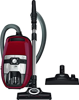 Miele 10661220 Blizzard CX1 Cat and Dog PowerLine Bagless Vacuum Cleaner, Red