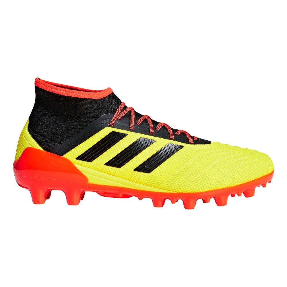 adidas(アディダス) メンズ サッカースパイク プレデター 18.2 ジャパン HG BB6937 B07DTFT7B4 26 ソーラーイエロー ソーラーイエロー 26