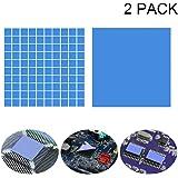 Kalolary Soft Thermal Conductive Silicone Pad-2 Piezas de Alto Rendimiento Double Side Tapes Disipador
