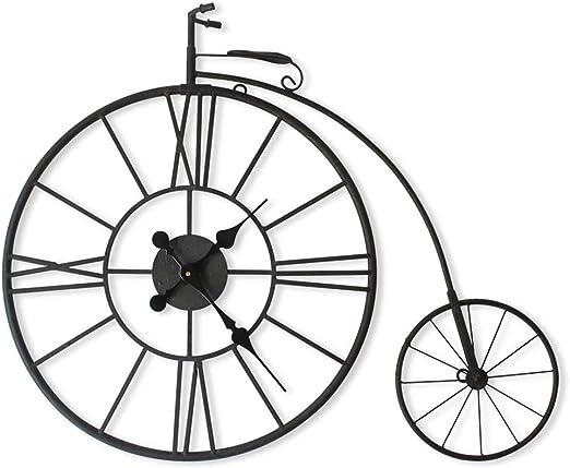 Reloj de pared retro europeo Reloj de pared Creativo Bicicleta ...