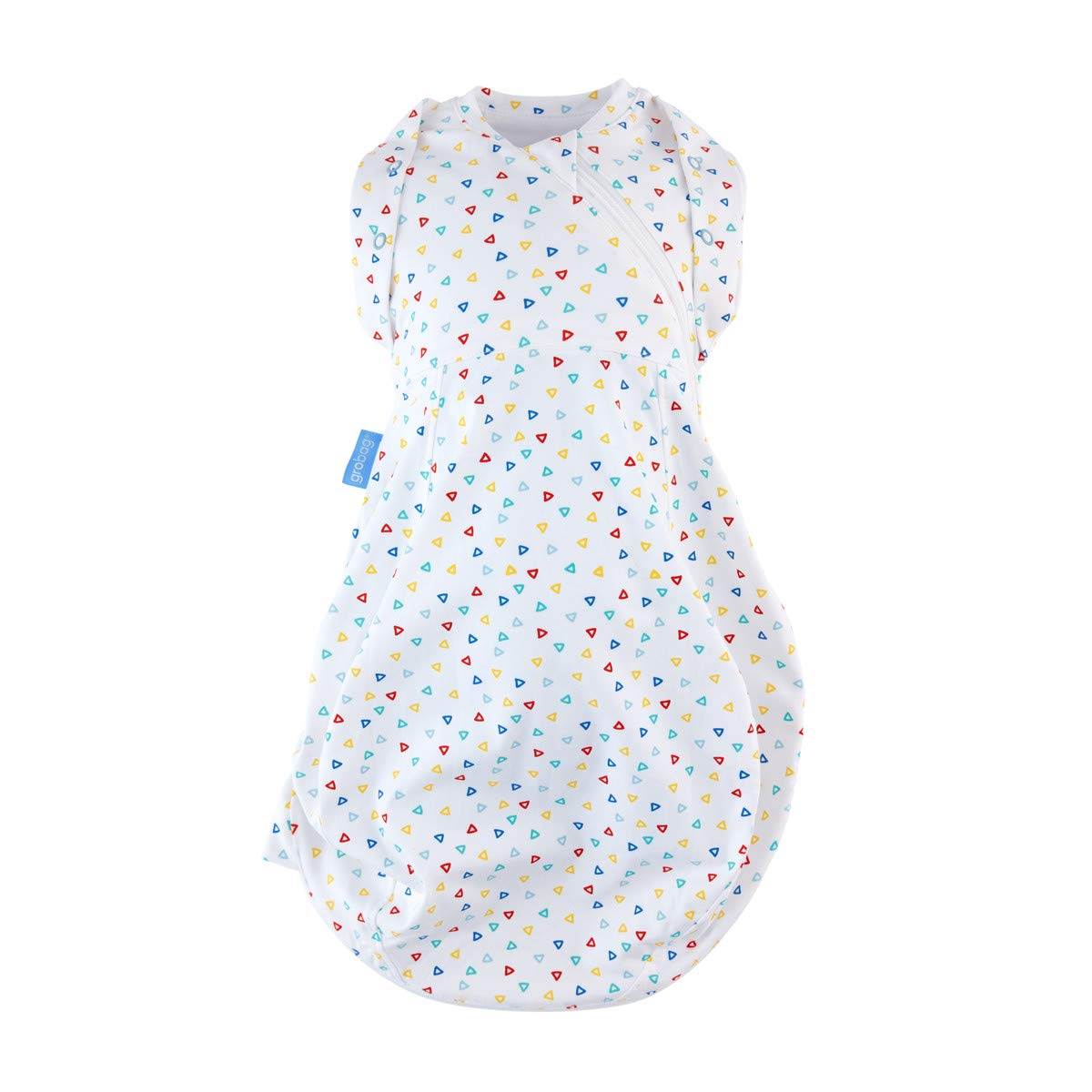 BRAND NEW Gro Snug Talking Turtles 2-in-1 Swaddle and Grobag stars dots Newborn