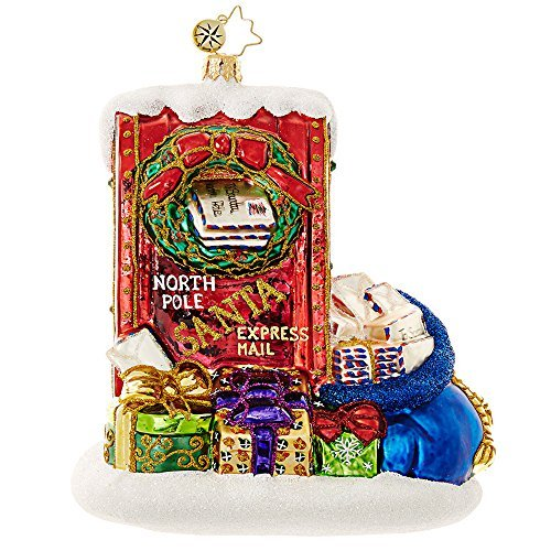 Christopher Radko Letters to Santa Christmas Ornament Christopher Radko Letters To Santa