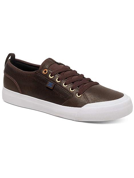 DC Shoes Evan Smith LX – Scarpe per uomo adys300368, Dk Chocolate, 12.5