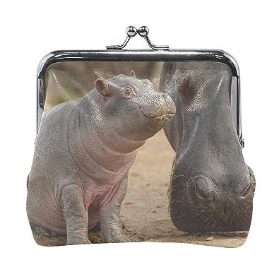 Amazon.com: Rh Studio Monedero Hippopotamus Muzal bebé ...