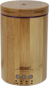 Now Essential Oils, Ultrasonic Real Bamboo Aromatherapy Oil Diffuser