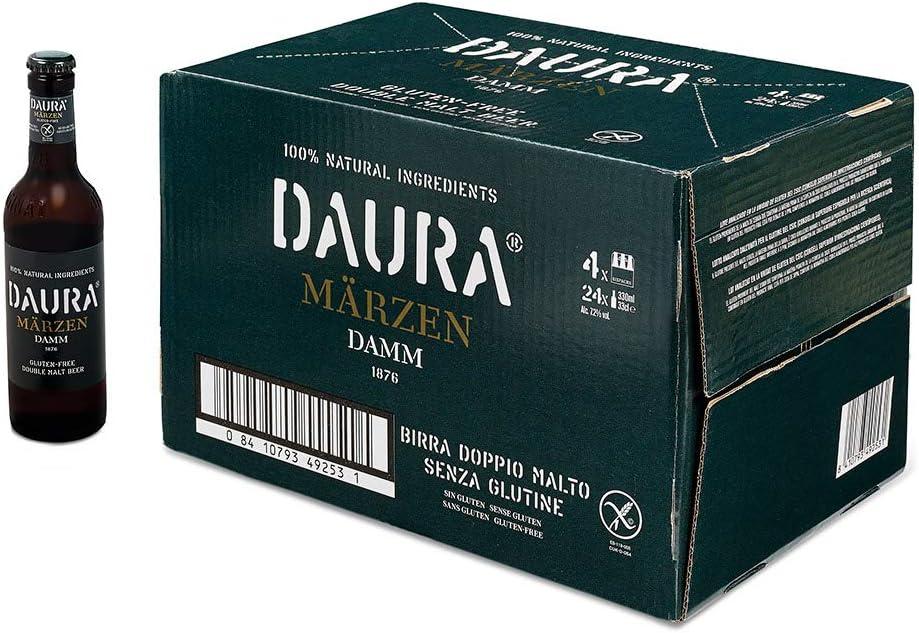 Daura Damm Märzen (doble malta) (24 botellas de 33 cl)