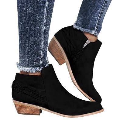 4c7fb39cb6ddb Amazon.com   Nadition Women Bootie Clearance 🌹 2108 Fashion Ladies ...