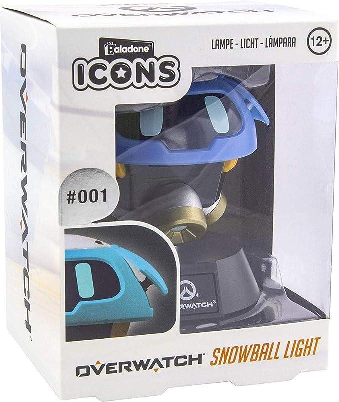 Overwatch Snowball - Lámpara de mesa: Amazon.es: Hogar