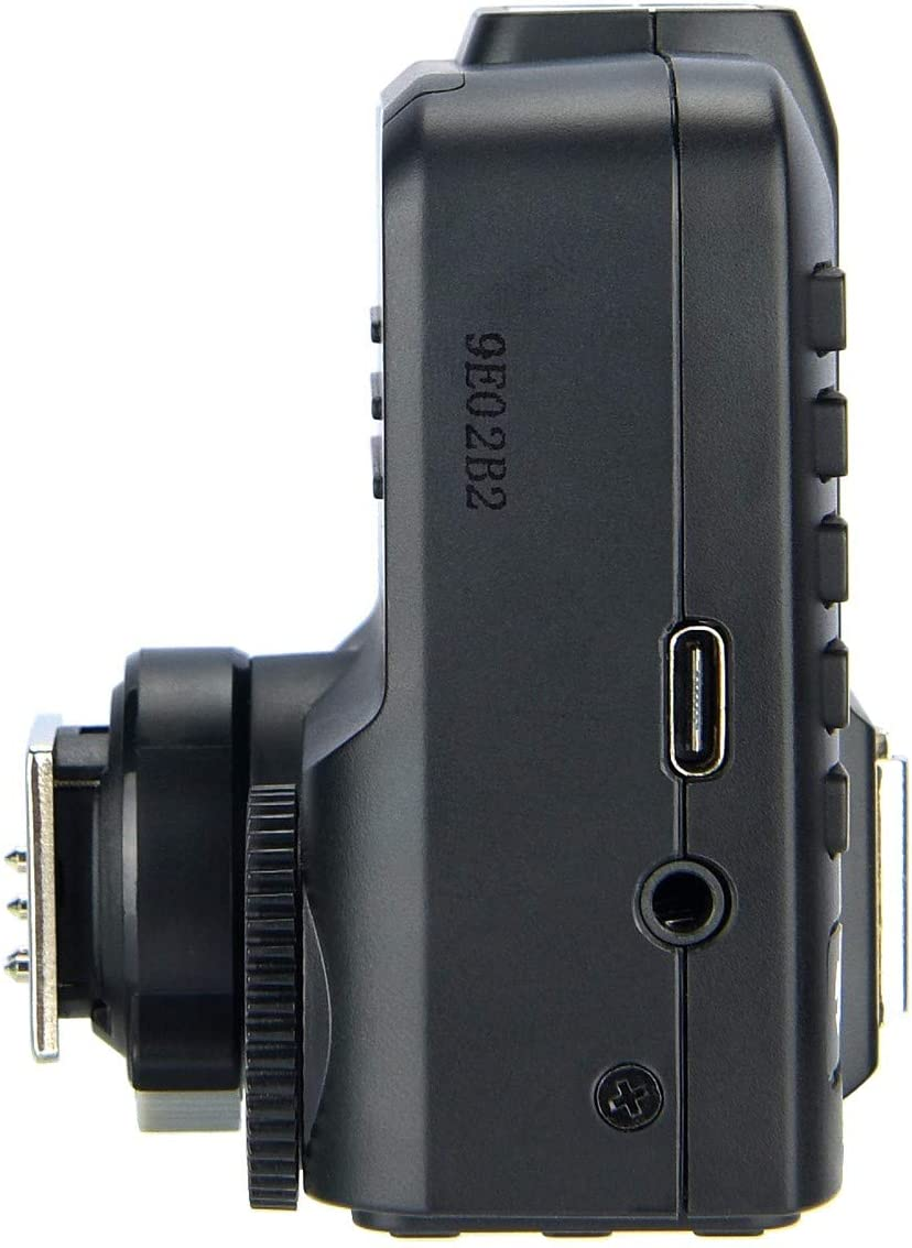 Bluetooth Connection Supports iOS//Android App Contoller TCM Function 1//8000s HSS GODOX X2T-C TTL Wireless Flash Trigger for Canon 5 Separate Group Buttons X1T Upgrade Version