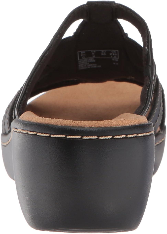 Clarks Womens Delana Venna Platform /& Wedge Sandals