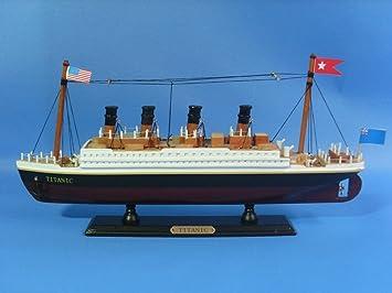 Amazoncom Titanic Model Cruiseship Already Built Not A Kit - Model cruise ship kits