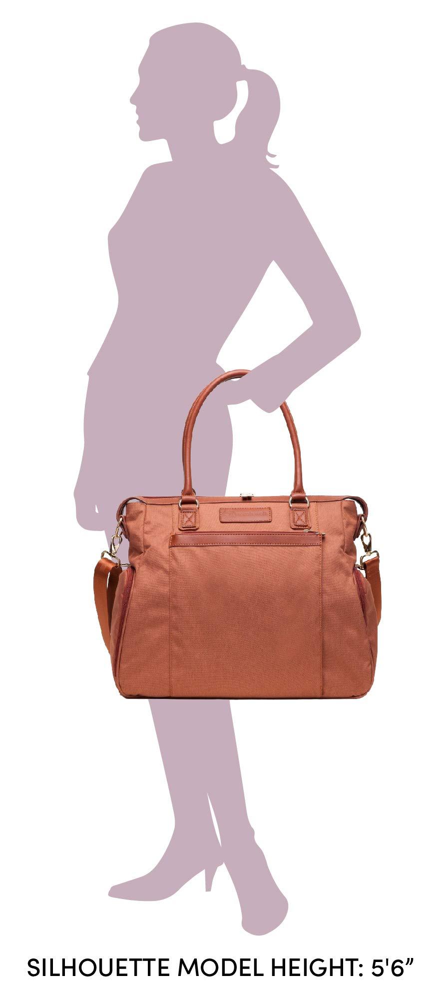 Sarah Wells Claire Breast Pump Bag (Brown)