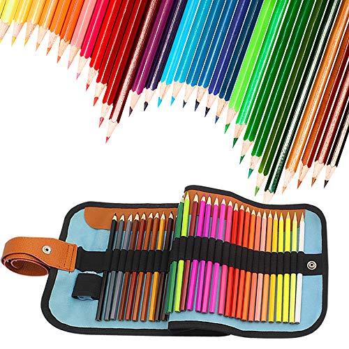 FUNHOUR 50 Colored Pencils Set Color Drawing Pencils kit Wit