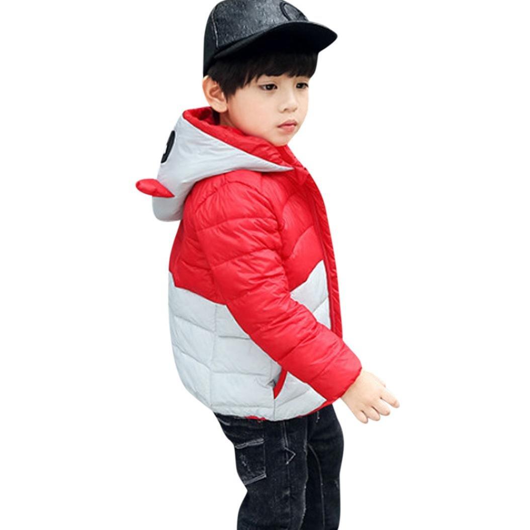 ChainSee Baby Girl Boy Winter Warm Panda Hooded Zipper Down Coat Jacket Parka Fashion Cute