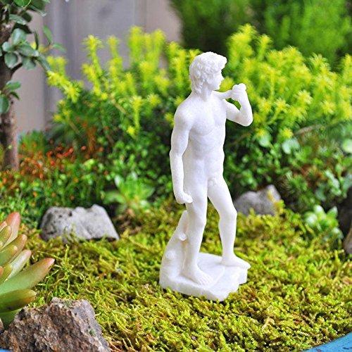 Mini Dollhouse FAIRY GARDEN Accessories - David Statue - My Garden Miniatures