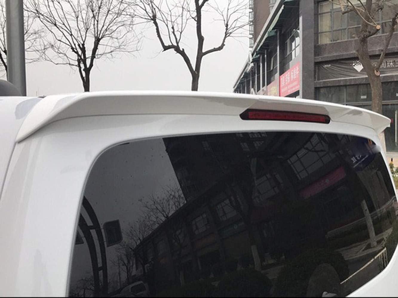 AniFM Aileron de Toit arri/ère pour Mercedes Benz Nouveau Vito V260 V260L Classe V 2016 2017 2018 Becquet de fen/être de Coffre,White