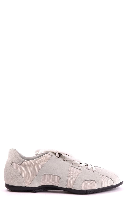 Cesare Paciotti メンズ MCBI068040O ホワイト セーム 運動靴 B07DP9K19X