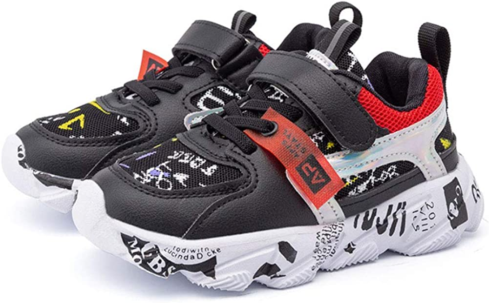 Daclay Kids Shoes Childrens Sports Shoes Girls and Boys Trend Breathable Basketball Shoes