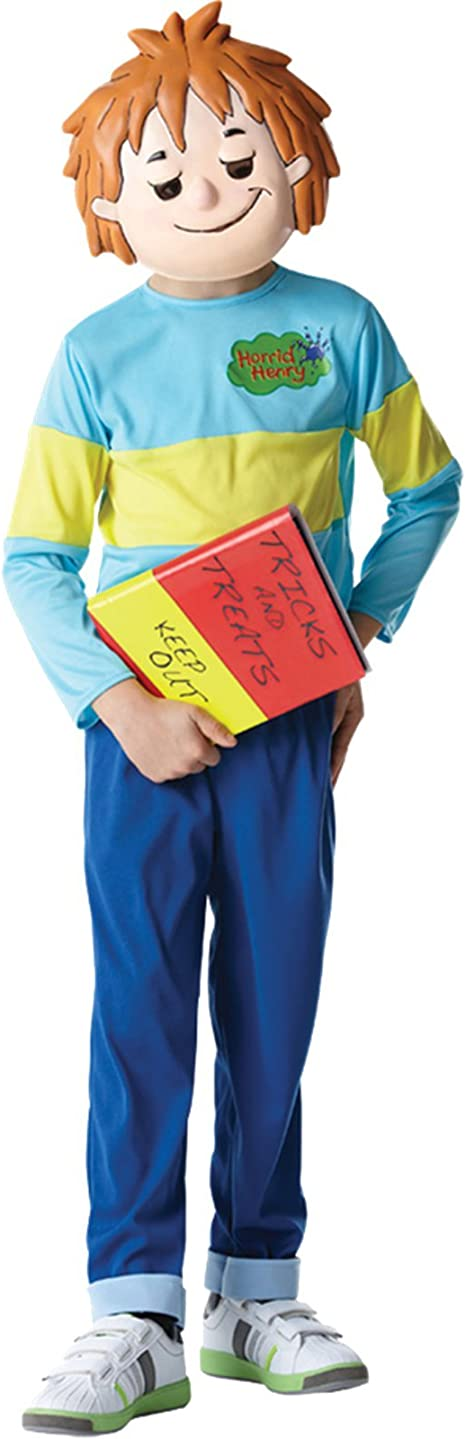 Horrid Henry Kids boys Fancy Dress Costume Accessories WORLD BOOK DAY
