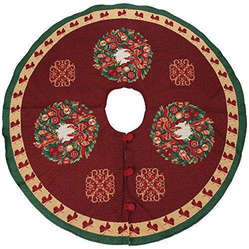 Wreath Tree Skirt - 5