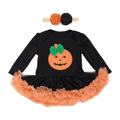 Zhuhaitf Trajes de Halloween Ropa Bebé Chicas Lovely Printing ...