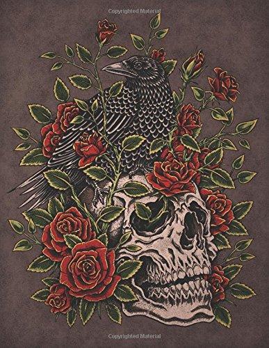 Raven and Roses Sketchbook: Blank Art Pad Notebook Journal (Tattoo You 150 Sketch) (Volume 13) pdf
