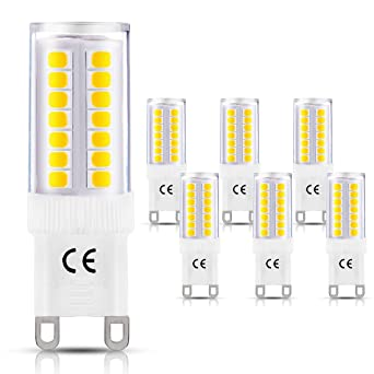 LOHAS® G9 Bombilla de LED de 5 Vatios, 400lm, 3000K Blanco Cálido,