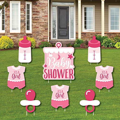 Girl Baby Shower - Yard Sign and Outdoor