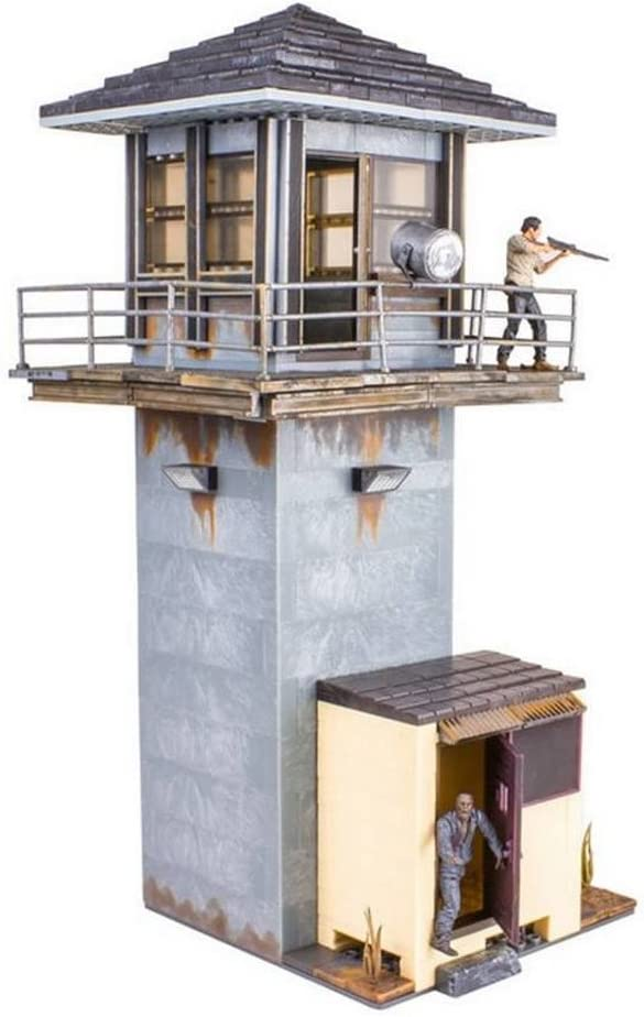McFarlane Toys The Walking Dead AMC TV Series Prison Gate /& Fence Building...