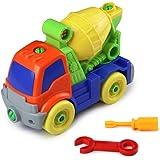 Montaggio giocattolo set costruzione veicoli auto con cacciavite regalo per 3+