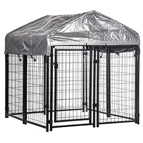 OutDoor Heavy Duty Playpen Welded Dog Kennel Water Resistant Cover x 4.4' + FREE E-Book by Eight24hours