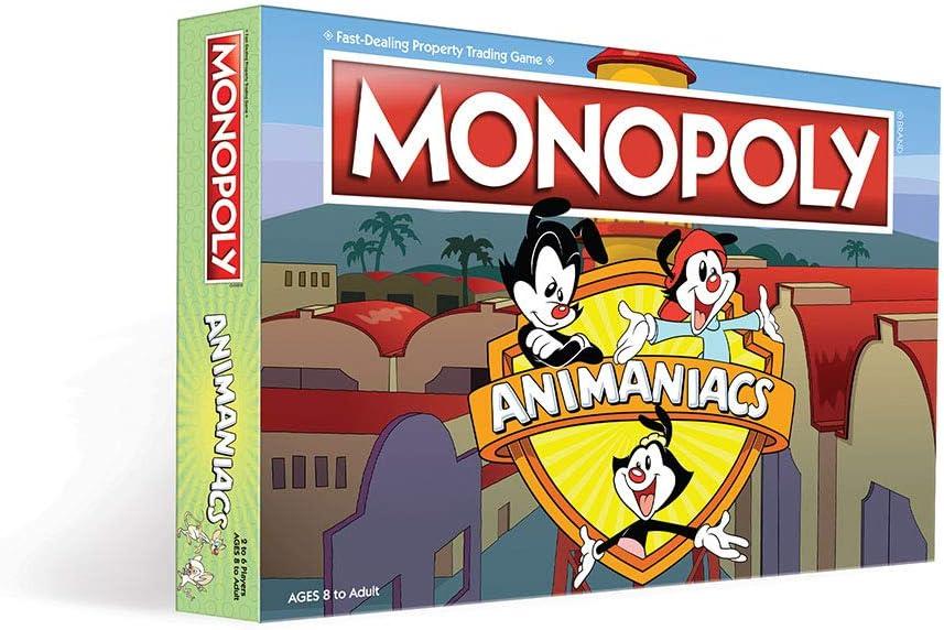Animaniacs Monopoly Juego de Mesa: Amazon.es: Juguetes y juegos