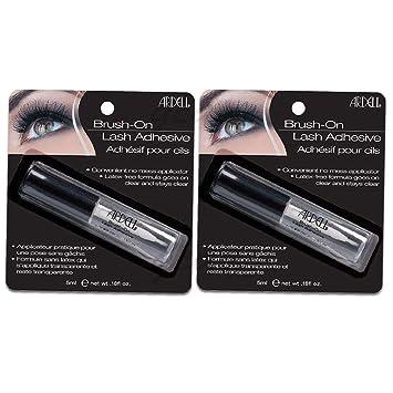 c7ffb00d679 Amazon.com : Ardell Brush On Lash Adhesive (2-Pack) : Beauty