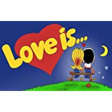 Love Is (Sipsevdi) Bubble Gum, Strawberry and Banana Flavoured Sugar Gum 1 Pack 100 Pieces